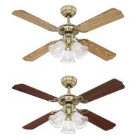 Stropní ventilátor se světlem Westinghouse 78265 - Princess Trio