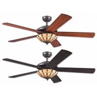 Stropní ventilátor se světlem Westinghouse 72485 - Comet Tiffany