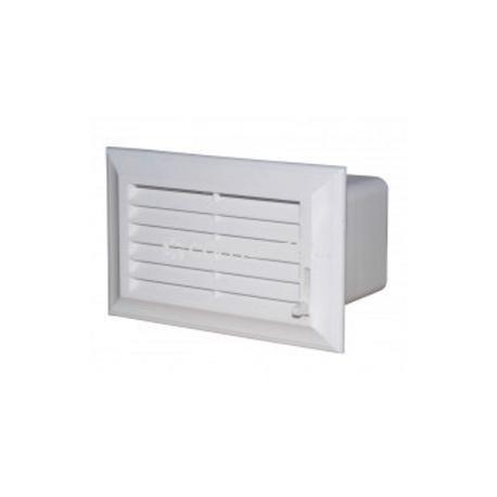 Vzduchotechnická mřížka 204x60 mm regulovatelná PVC 872