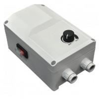 Regulátor otáček ventilátoru RS-5.0-T na omítku do 1,1kW