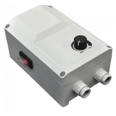 Regulátor otáček ventilátoru RS-10.0-T na omítku do 2,3kW