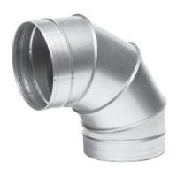 Koleno kovové 90 stupňů - průměr 100 mm