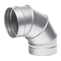 Koleno kovové 90 stupňů - průměr 150 mm