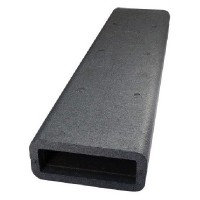 Izolace čtyřhranného PVC potrubí 1m, 204x60mm