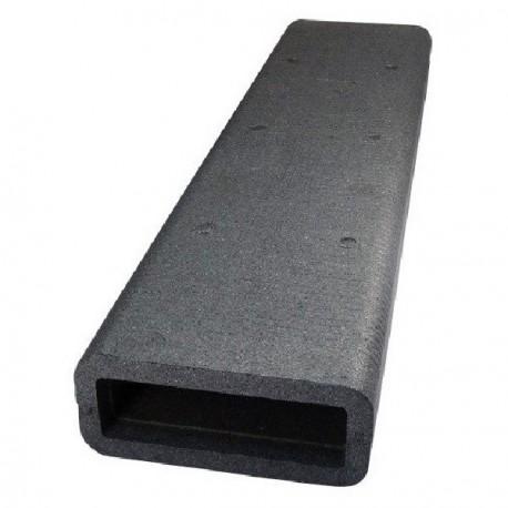 Izolace čtyřhranného PVC potrubí 1m, 220x90mm
