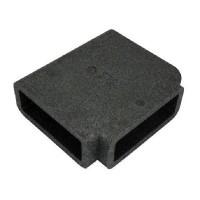 Izolace pro PVC čtyřhrannou T spojku, 204x60mm