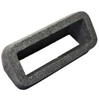 Izolace pro vertikální 45st. čtyřhranné PVC koleno, 220x90mm