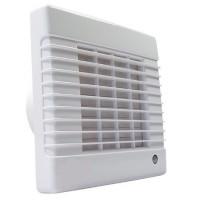 Ventilátor Dalap 125 LV - vyšší výkon, žaluzie, ložiska