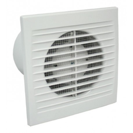 Ventilátor Dalap 100 PT ZW ECO - úsporný a tichý, časovač, hydrostat