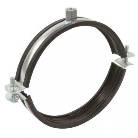 Úchyt s gumou pro SPIRO odsávací potrubí  - Ø125mm