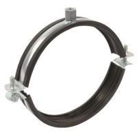 Úchyt s gumou pro SPIRO odsávací potrubí  - Ø160mm