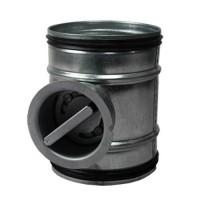 Regulační klapka mechanická 100 mm
