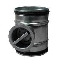 Regulační klapka mechanická 80 mm
