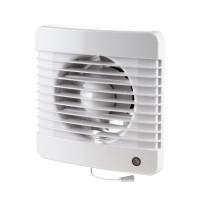 Ventilátor Dalap 100 Grace - vyšší tlak s tahovým spínačem, časovač