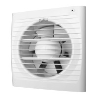 Ventilátor Dalap 100 Elke - časovač, světelné čidlo