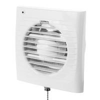 Ventilátor Dalap 125 Elke - časovač, s tahovým spínačem