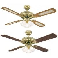 Stropní ventilátor se světlem Westinghouse 78171 - Monarch Trio