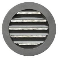Větrací mřížka AV Ø 100 mm kruhová kov