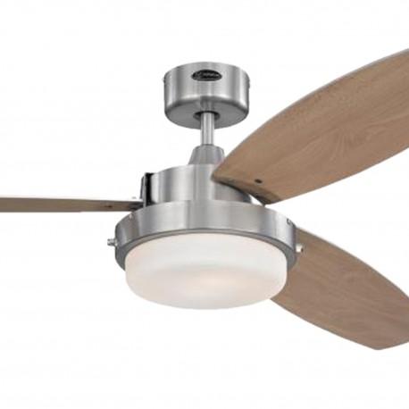 Stropní ventilátor se světlem Westinghouse 72052 - Alloy