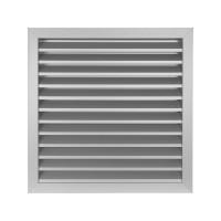 Větrací mřížka z vysoce kvalitního extrudovaného hliníku - 500x500 mm