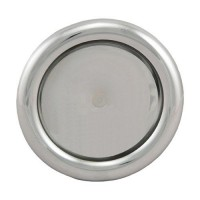 Talířový ventil-anemostat přívodní 150 mm chrom - 99517 - lesklý