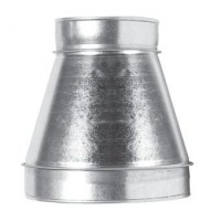 Redukce RM 100/125mm kovová Zn