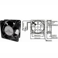 Ventilátor 230V / 120x120x38 mm