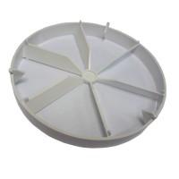 Zpětná klapka slídová 100mm Vents  PVC KO100