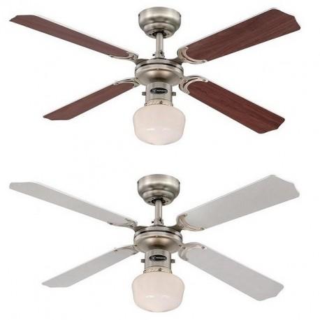 Stropní ventilátor se světlem Westinghouse 78266 - Portland Ambiance EL