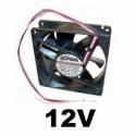 Ventilátory na 12V