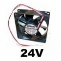 Ventilátory na 24V