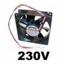 Ventilátory na 230V